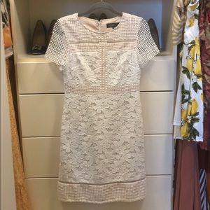 Donna Ricco BRAND NEW white lace dress